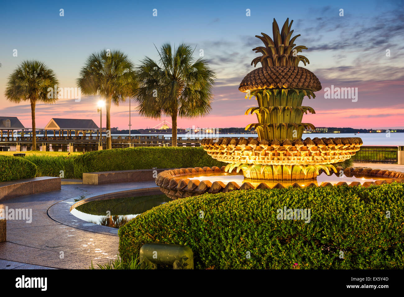 Charleston, South Carolina, USA at Waterfront Park. - Stock Image