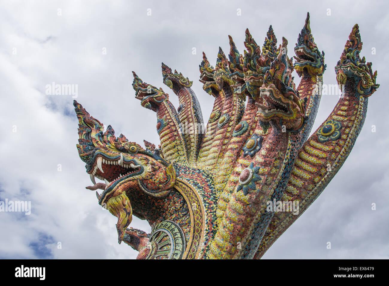 Temple of Ban Rai, Province Nakhonratchasima, Thailand - Stock Image
