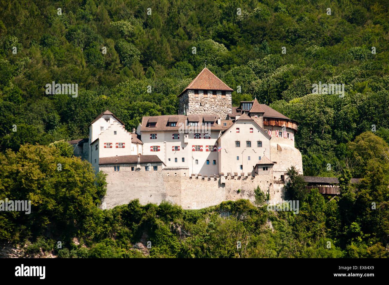 Vaduz Castle - Liechtenstein - Stock Image