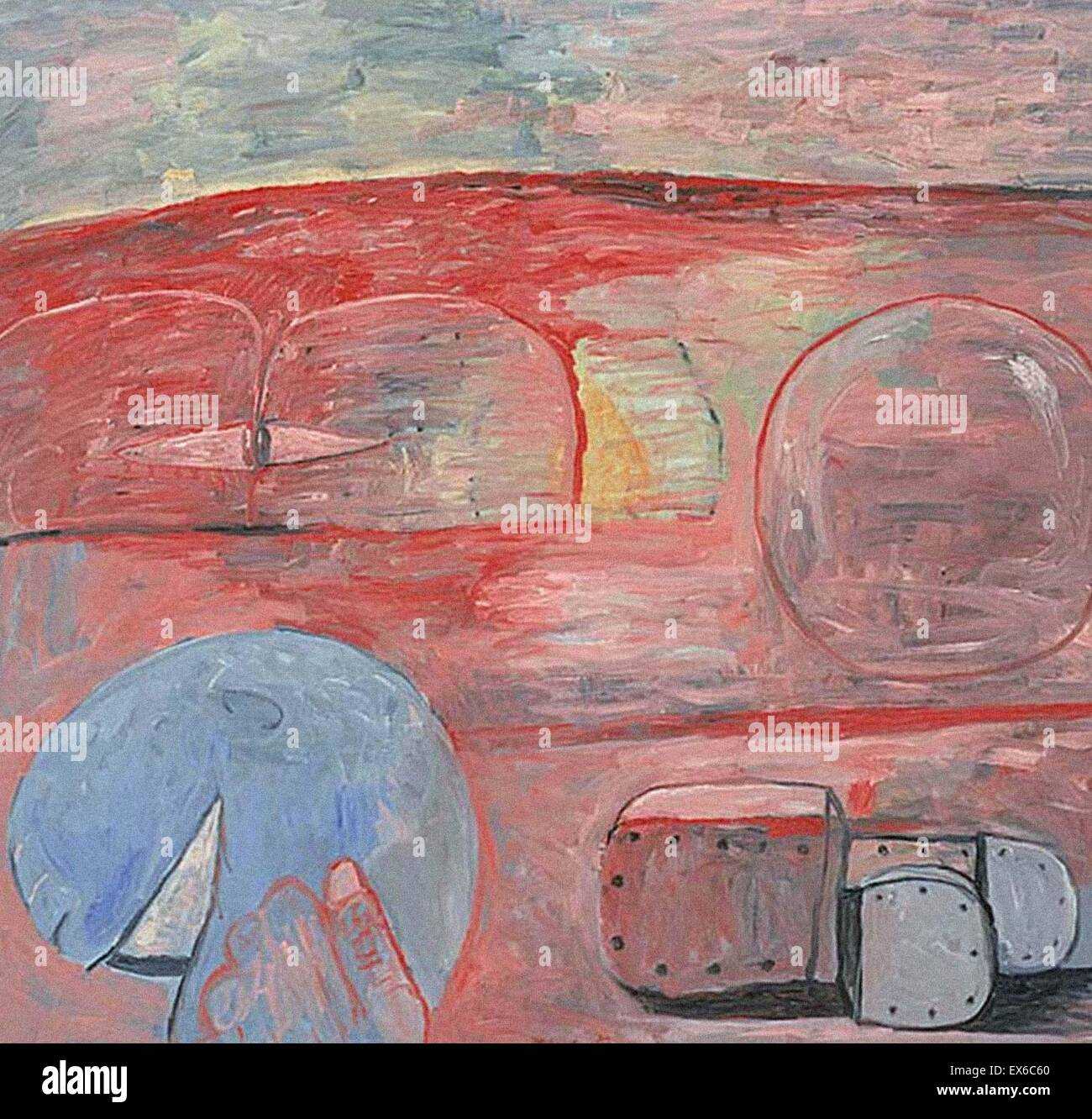 Philip Guston  The Lesson - Stock Image