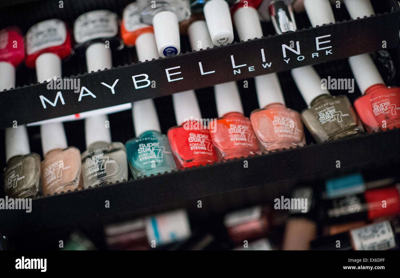 Berlin, Germany. 07th July, 2015. Nail polish of the brand Stock ...