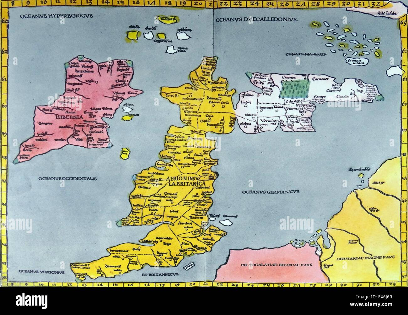 Map Of England 6th Century.Britain Map Stock Photos Britain Map Stock Images Alamy