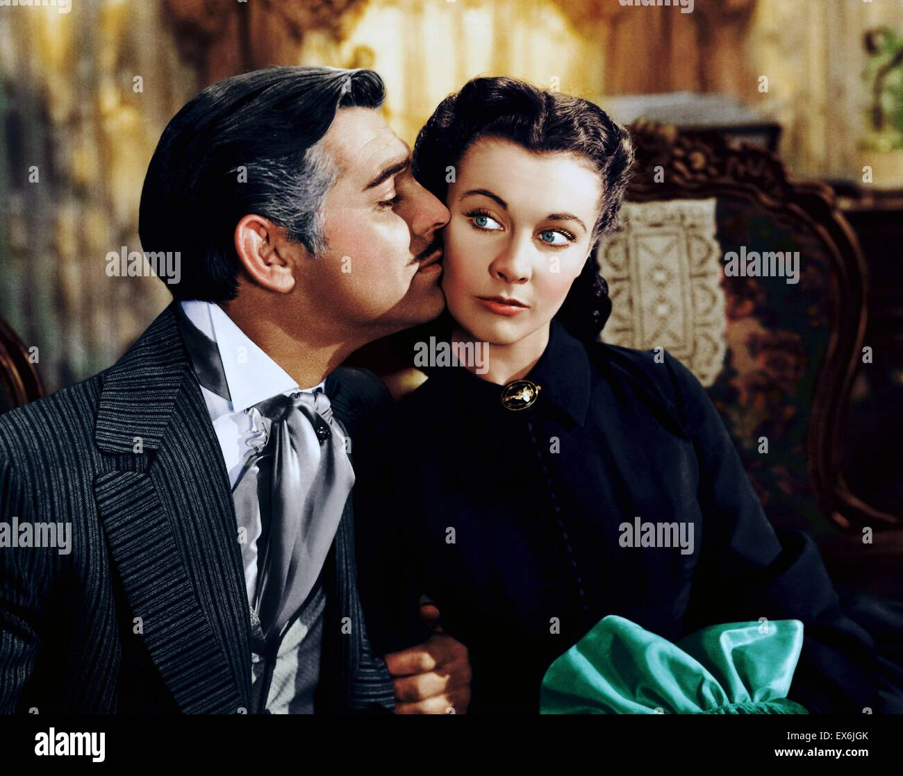 Gone with the Wind. 1939 American epic film adapted from Margaret Mitchell's Pulitzer-winning 1936 novel. The - Stock Image