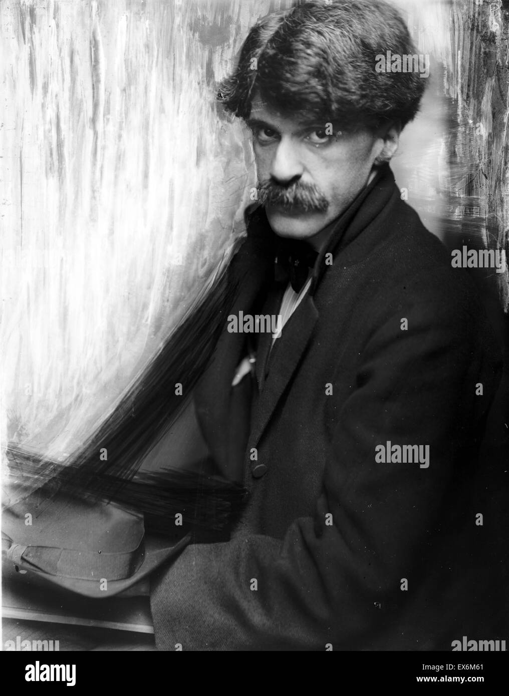 8474d5b2e0f2 Photograph of Alfred Stieglitz. Photographed by Gertrude Käsebier  (1852-1934). Dated 1902
