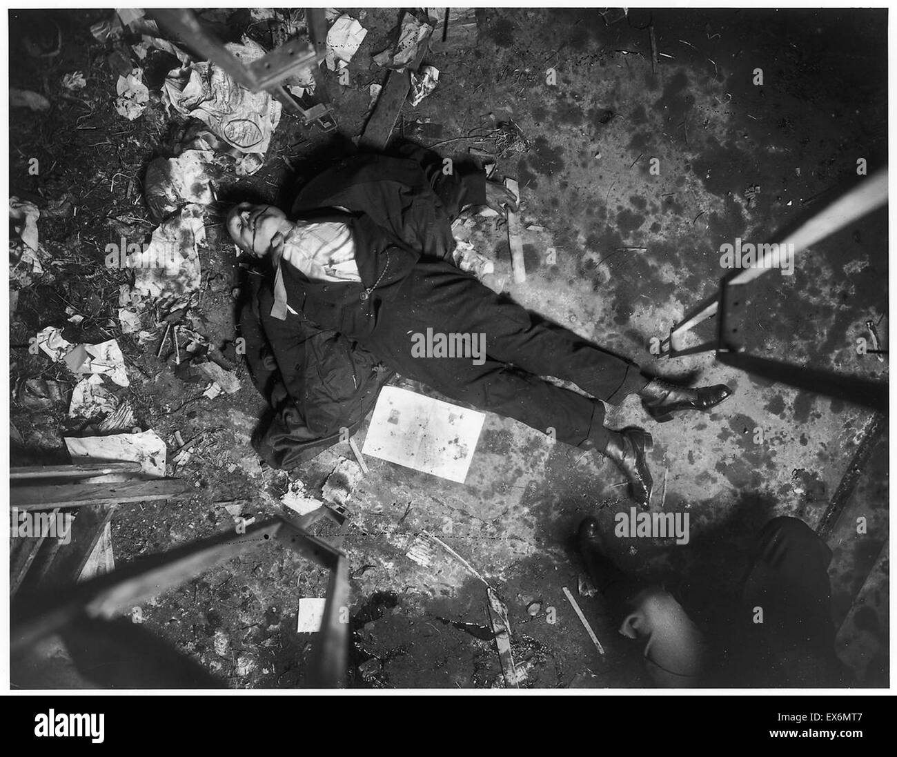 Ted Evans Photography: Photograph Of Murder Scene In New York City. Dated 1916
