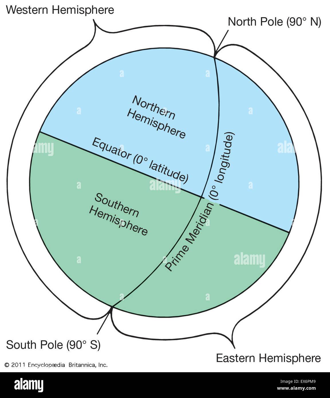 Hemisphere - Stock Image