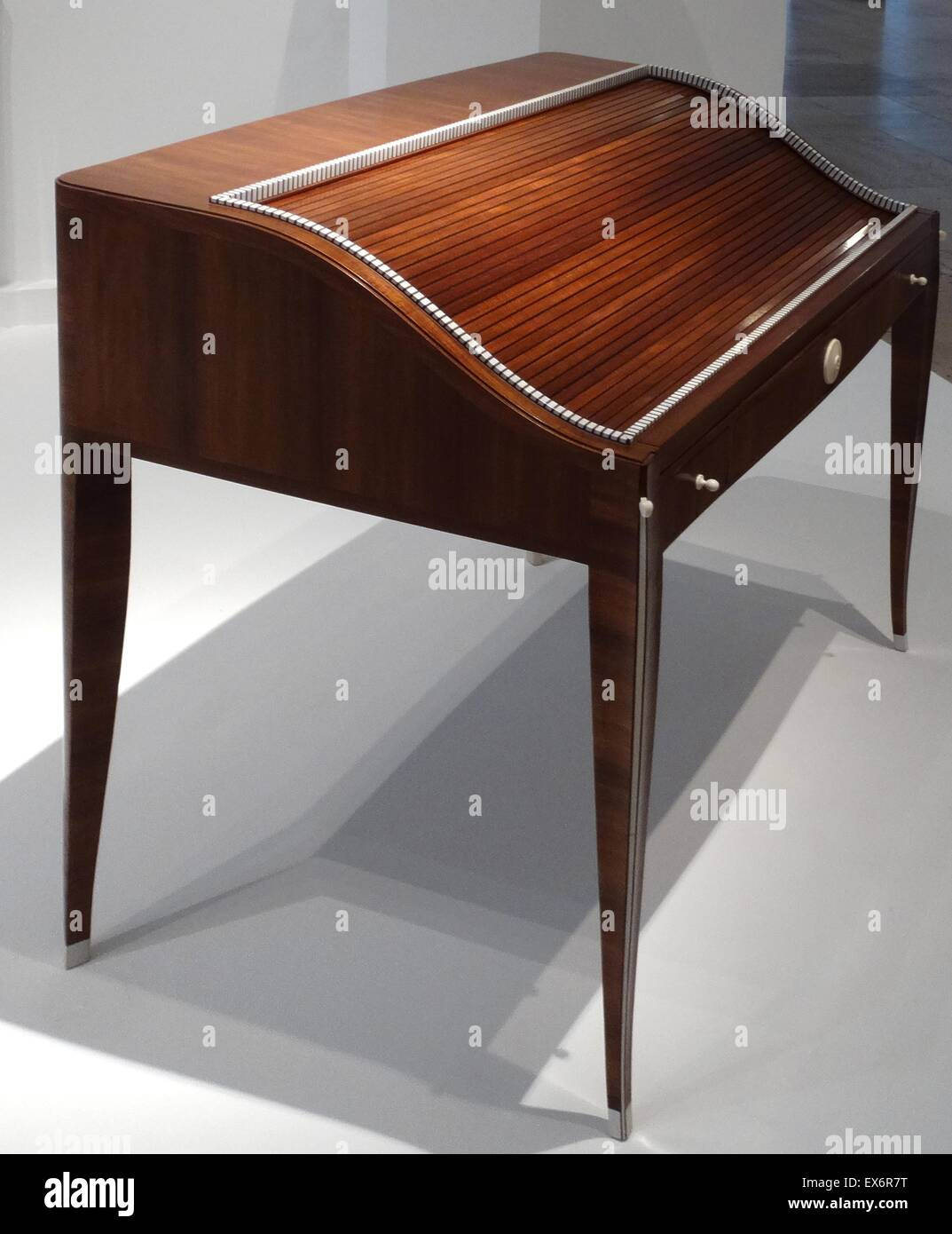 Art deco period furniture Simple Wood Office Desk Titled office Lady By Émilejacques Ruhlmann 18791933 French Designer Of Furniture And Interiors During French Art Deco Period Alamy Wood Office Desk Titled office Lady By Émilejacques Ruhlmann