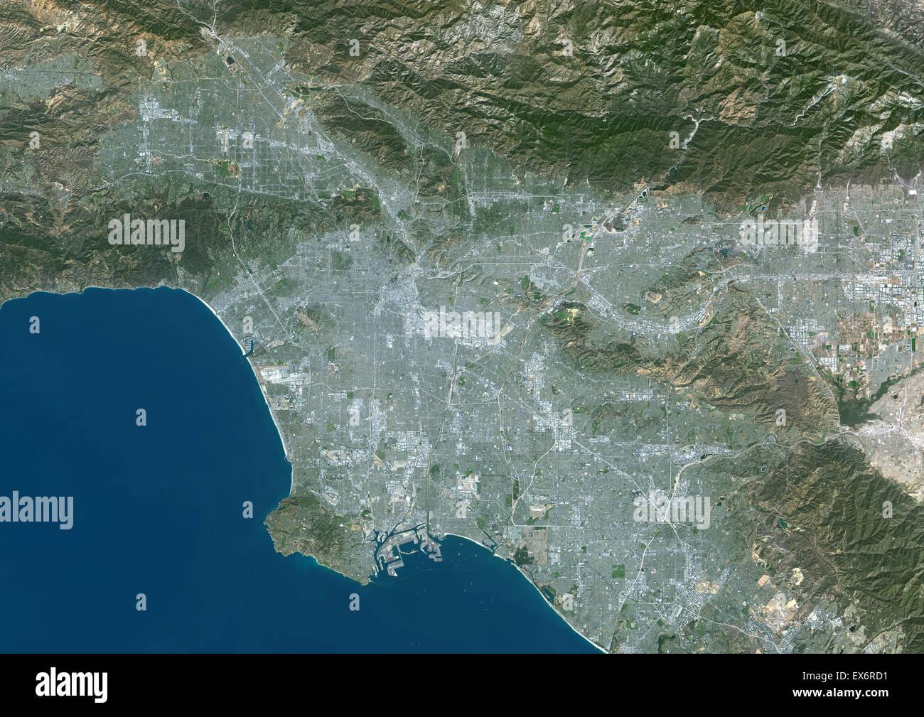 Satellite View California Stock Photos & Satellite View California on