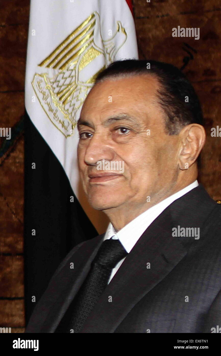Muhammad Hosni El Sayed Mubarak ( born 4 May 1928) Egyptian military and political leader who served as the fourth - Stock Image