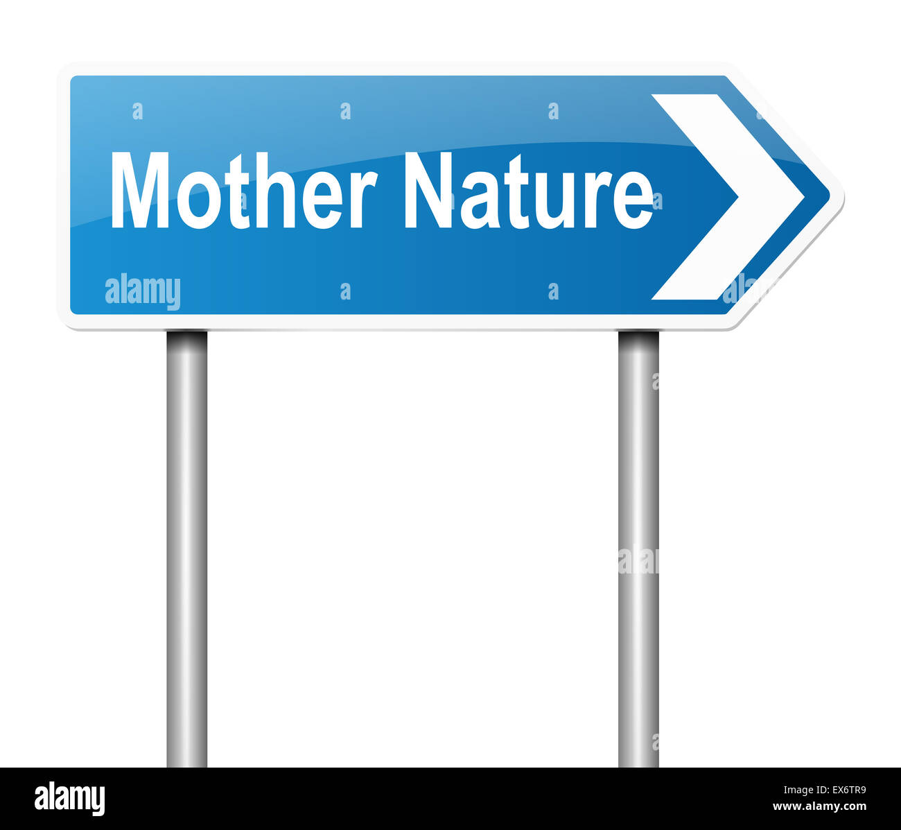 Mother nature concept. - Stock Image