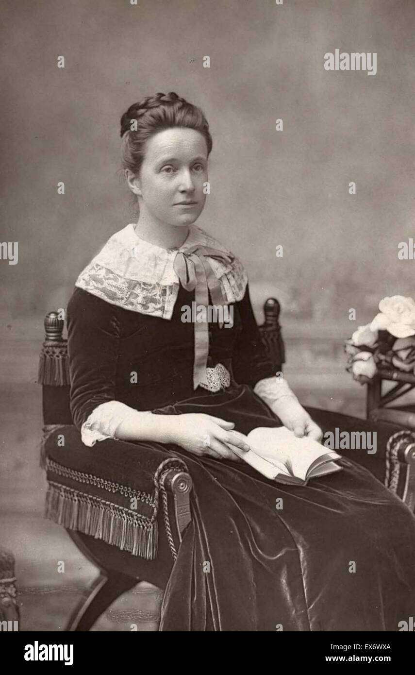 Millicent Fawcett (1847-1929). Author, suffragist and early feminist. - Stock Image