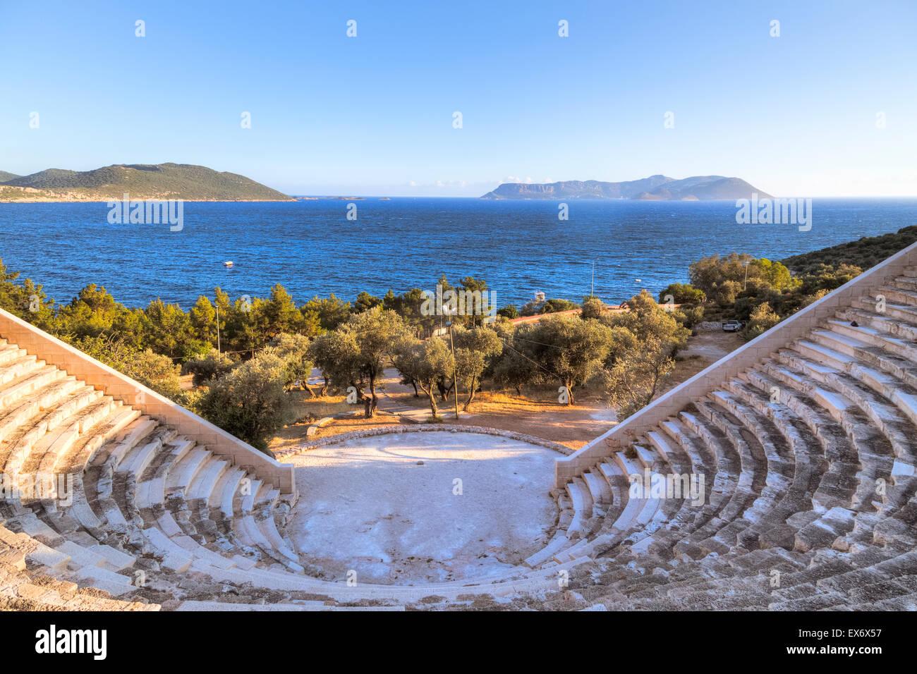 Kas, Antalya, Mediterranean, Turkey - Stock Image