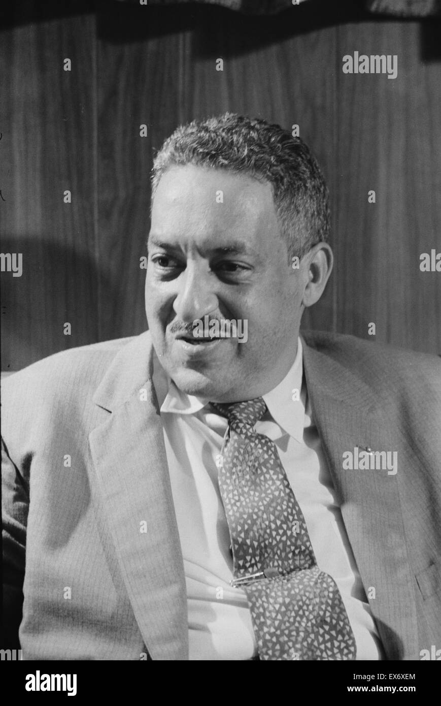 Thurgood Marshall (1908-1993) Associate Justice of the United Nations Supreme Court, serving from October 1967 until - Stock Image