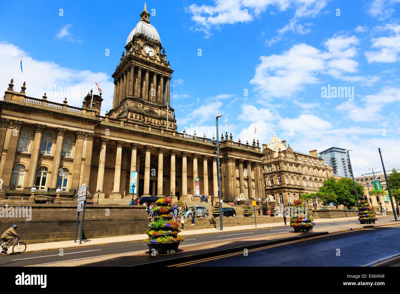 Town Hall, Leeds, United Kingdom - Stock Image