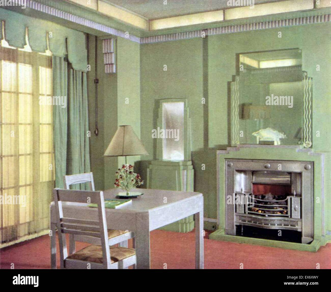 1930s Interior High Resolution Stock Photography And Images Alamy