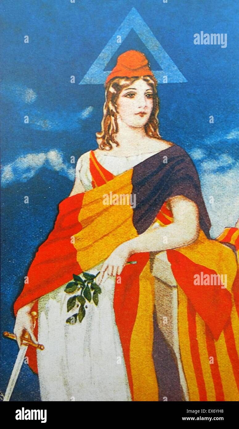 Marianne National Symbol Of The French Republic An Allegory Of