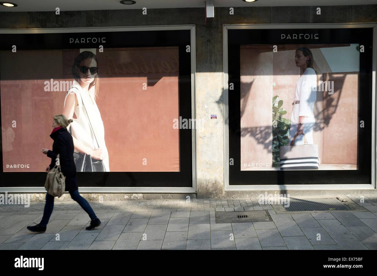 Parfois clothes shop, Dusseldorf, Germany. - Stock Image