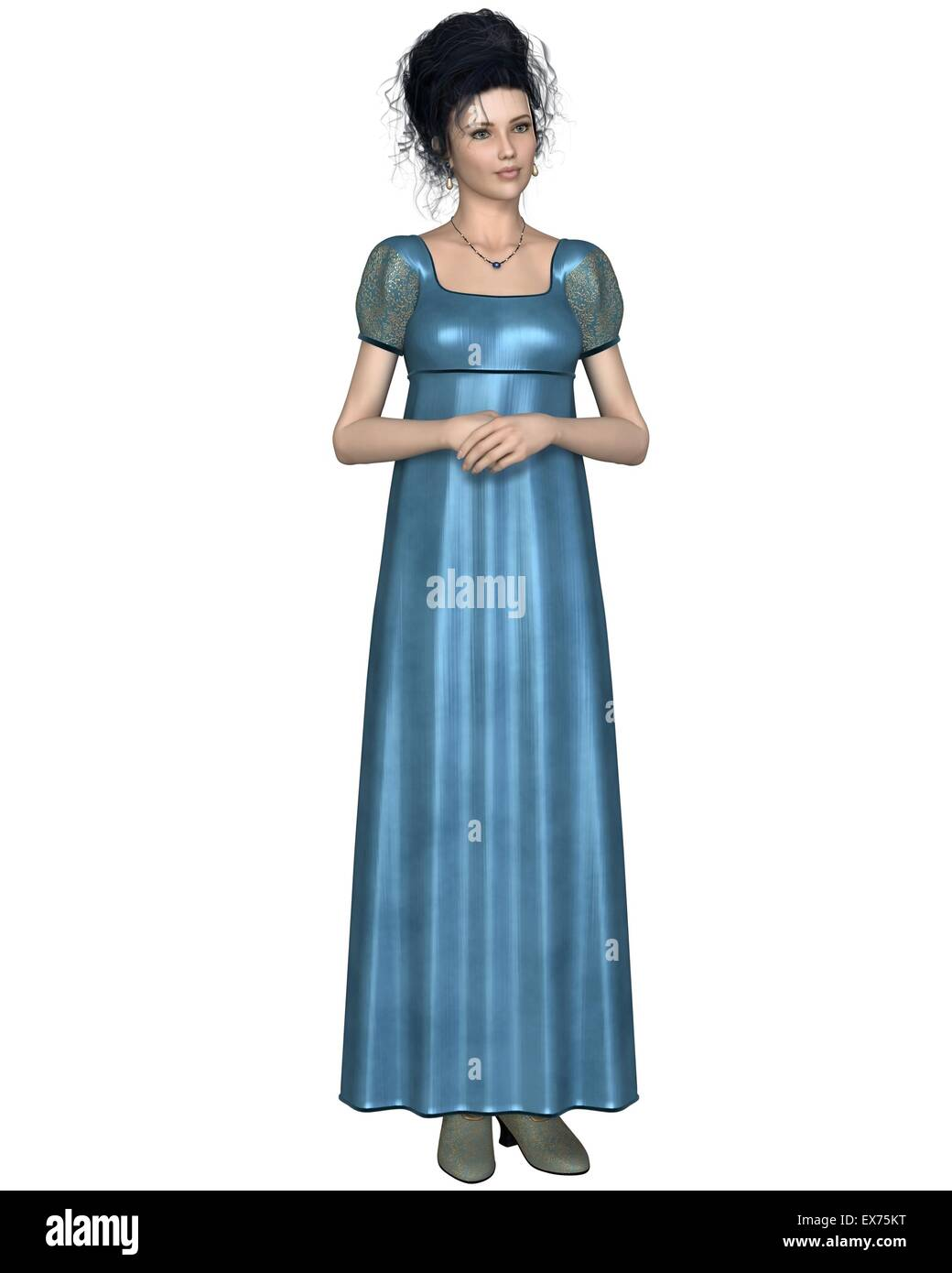 Regency Dress Stock Photos & Regency Dress Stock Images - Alamy