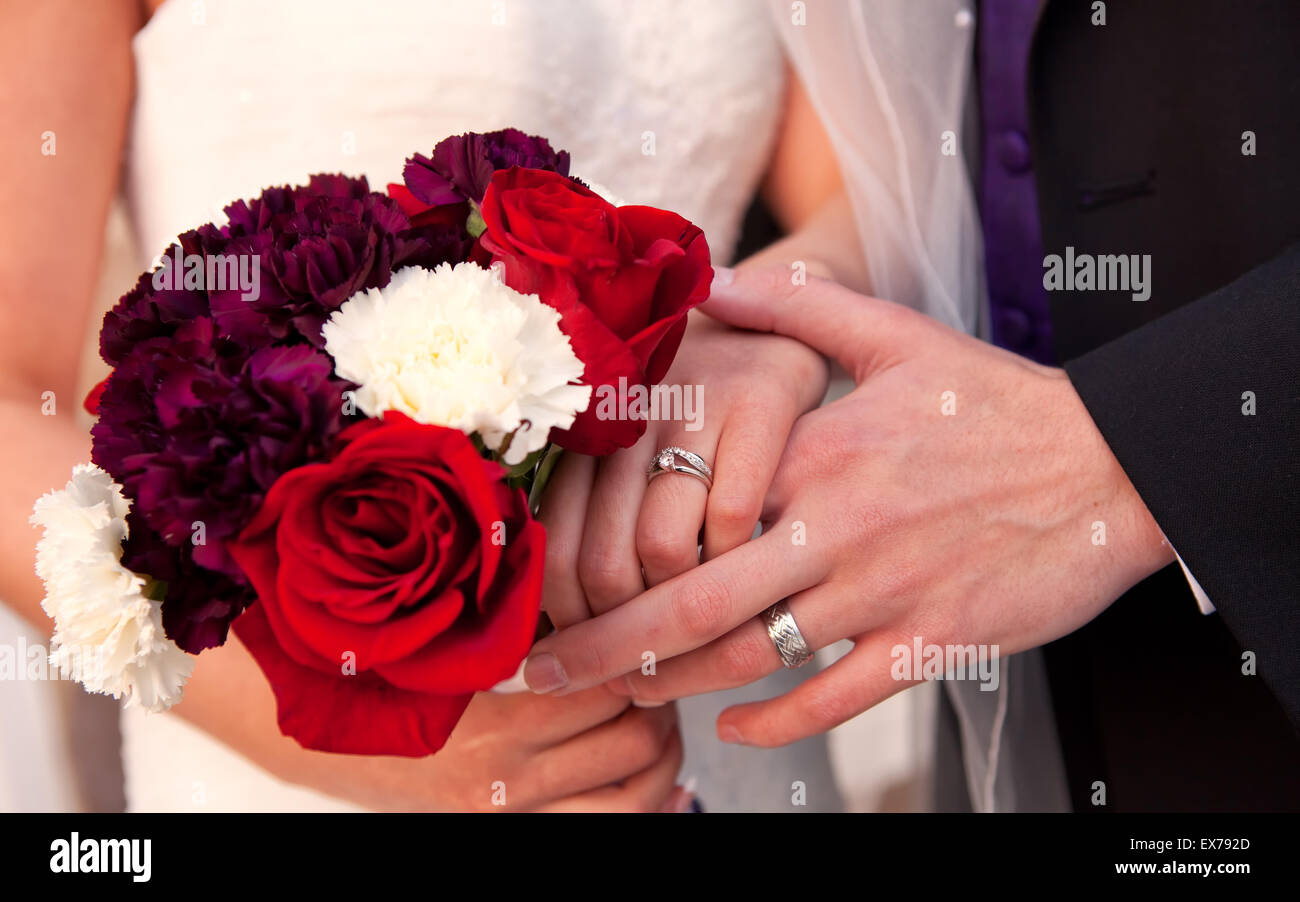Wedding Day Rings Stock Photos & Wedding Day Rings Stock Images - Alamy