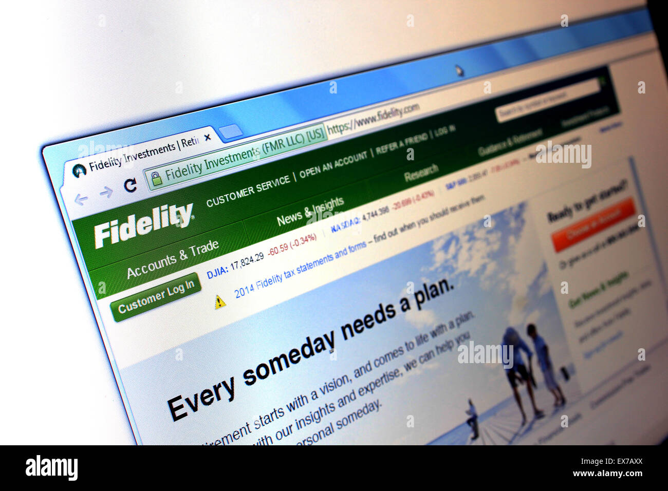 fidelity.com - Stock Image