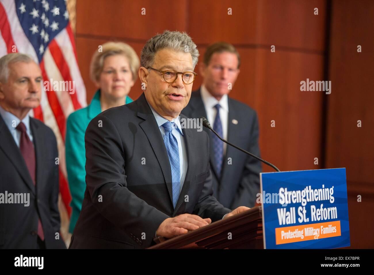 Democratic Senators Call For >> Us Senator Al Franken Joined By Other Democratic Senators Calls For