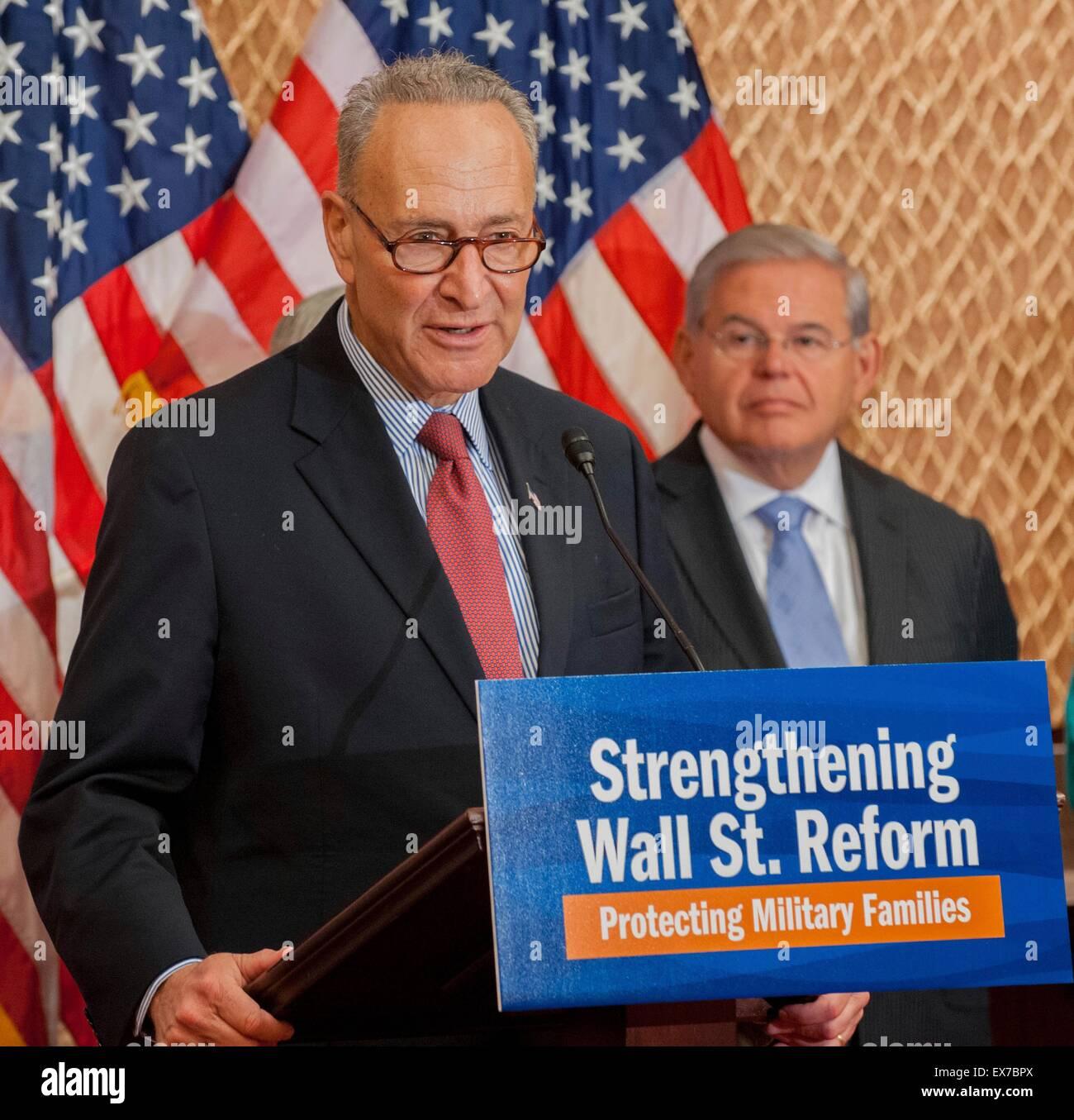 Democratic Senators Call For >> Us Senator Chuck Schumer Joined By Other Democratic Senators Calls