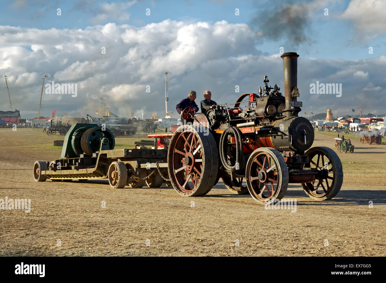 Fowler 6nhp General Purpose Engine No.21647 Kinsale Reg. No.ZB 1135 at The Great Dorset Steam Fair, Tarrant Hinton, - Stock Image