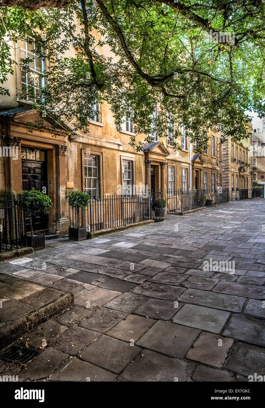 The Courtyard Bath Somerset UK - Stock Image