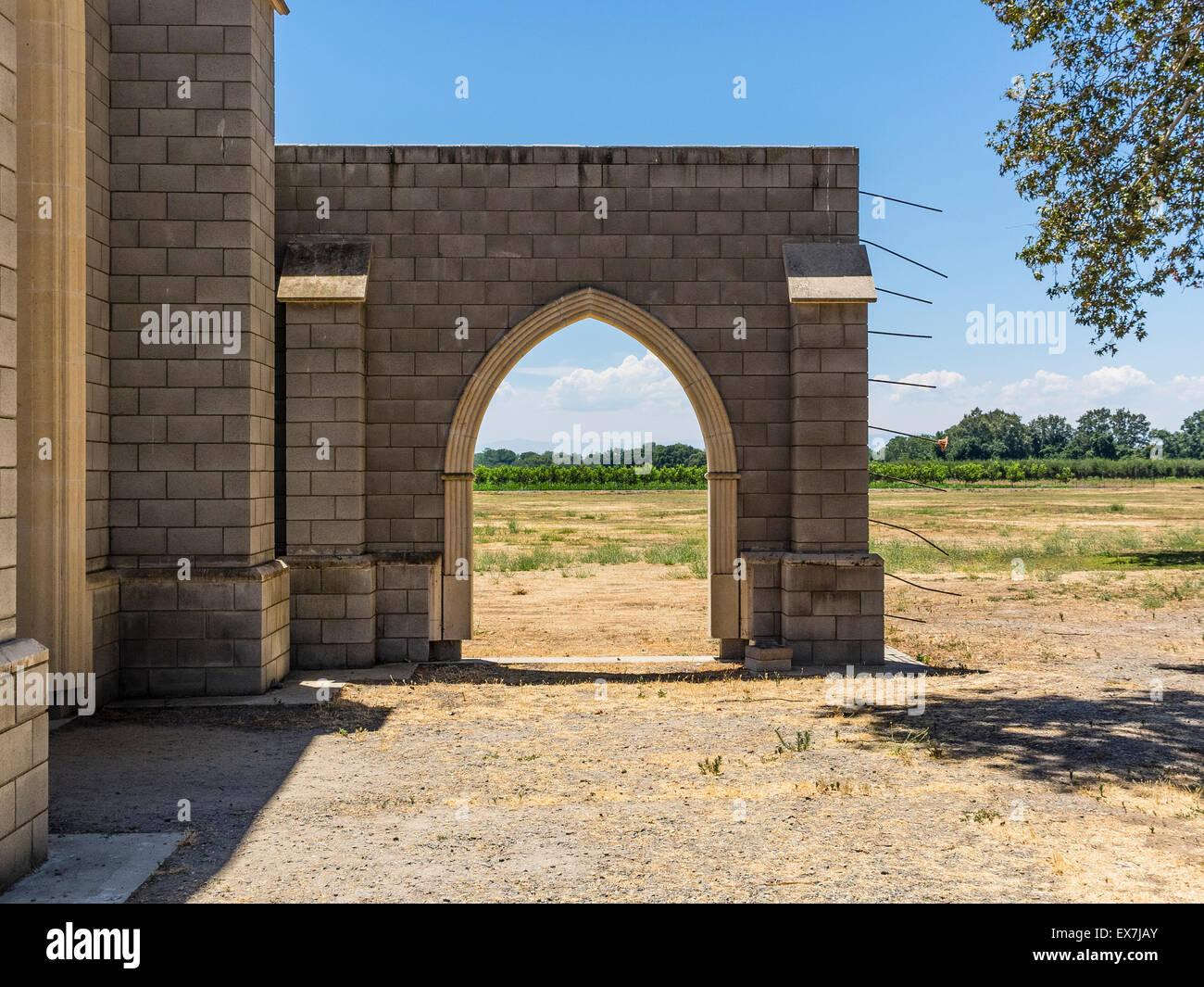 La Maison Du Bois Clairvaux ovila stock photos & ovila stock images - alamy