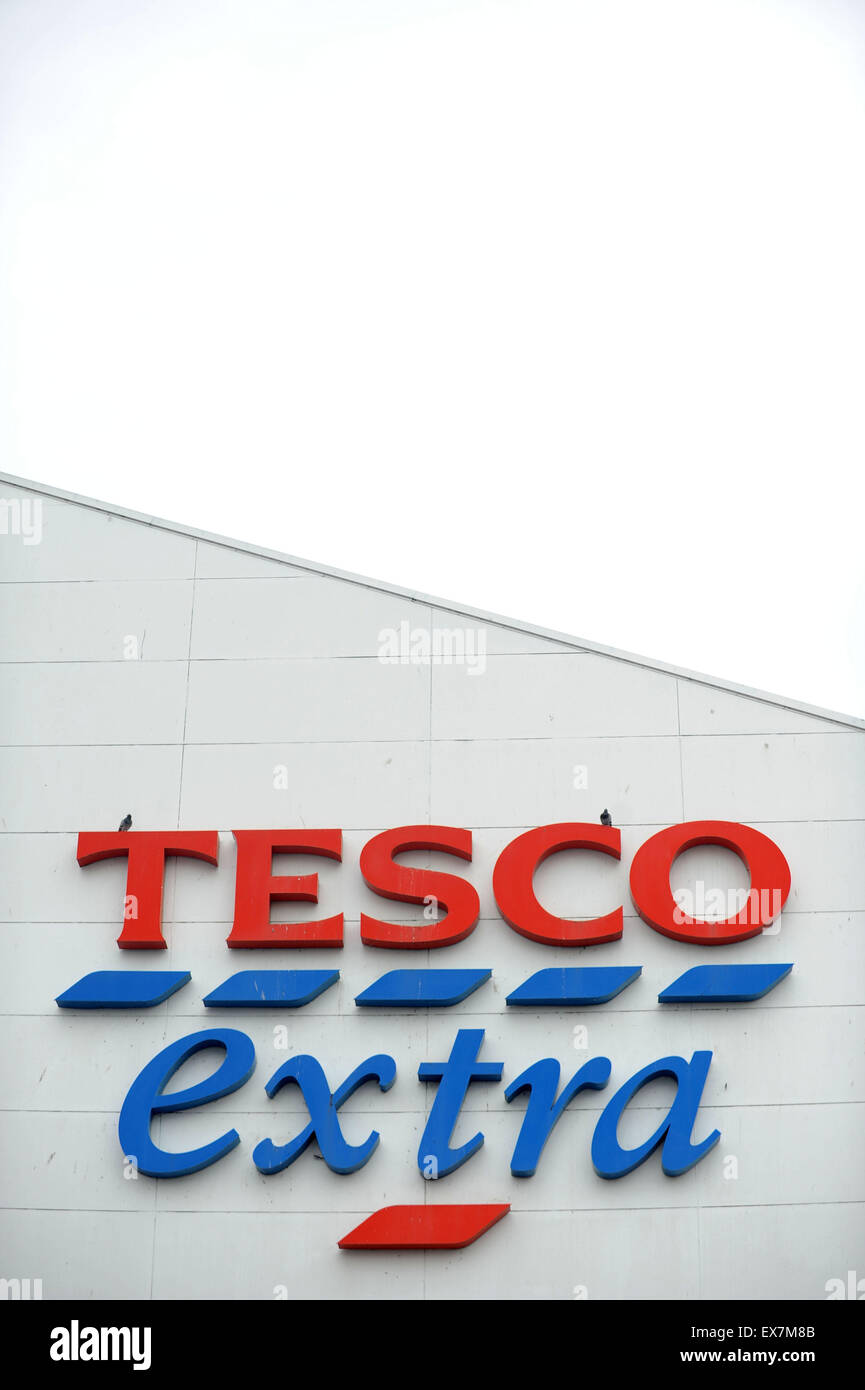 Tesco Extra Shop Stock Photos & Tesco Extra Shop Stock