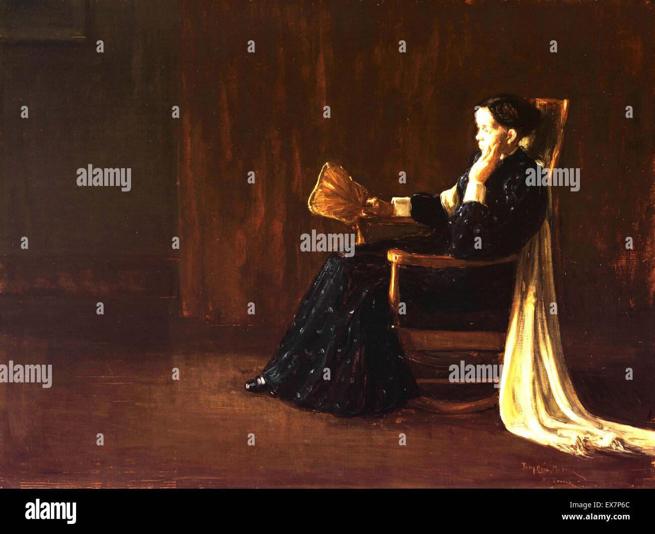 Henry Ossawa Tanner, Portrait of the Artist's Mother 1897 Oil on canvas. Philadelphia Museum of Art, USA. - Stock Image