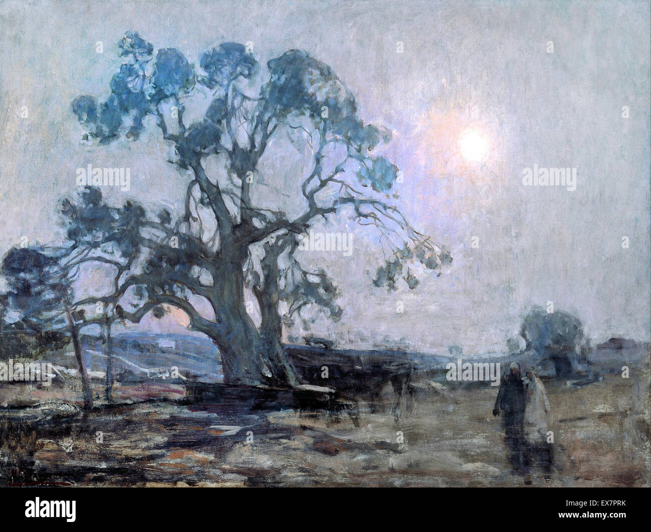 Henry Ossawa Tanner, Abraham's Oak 1905 Oil on canvas. Smithsonian American Art Museum, Washington, D.C., USA. Stock Photo