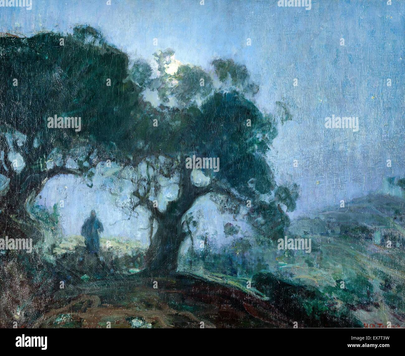 Henry Ossawa Tanner, The Good Shepherd 1902-1903 Oil on canvas. Zimmerli Art Museum at Rutgers University, New Brunswick, - Stock Image