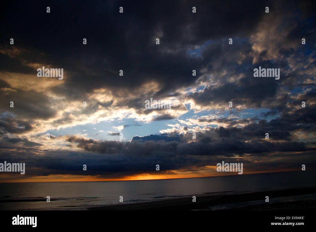 Impressionen: Himmel, Sylt. - Stock Image