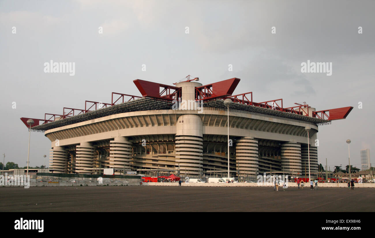 Inter AC Milan stadium San Siro italy Stock Photo