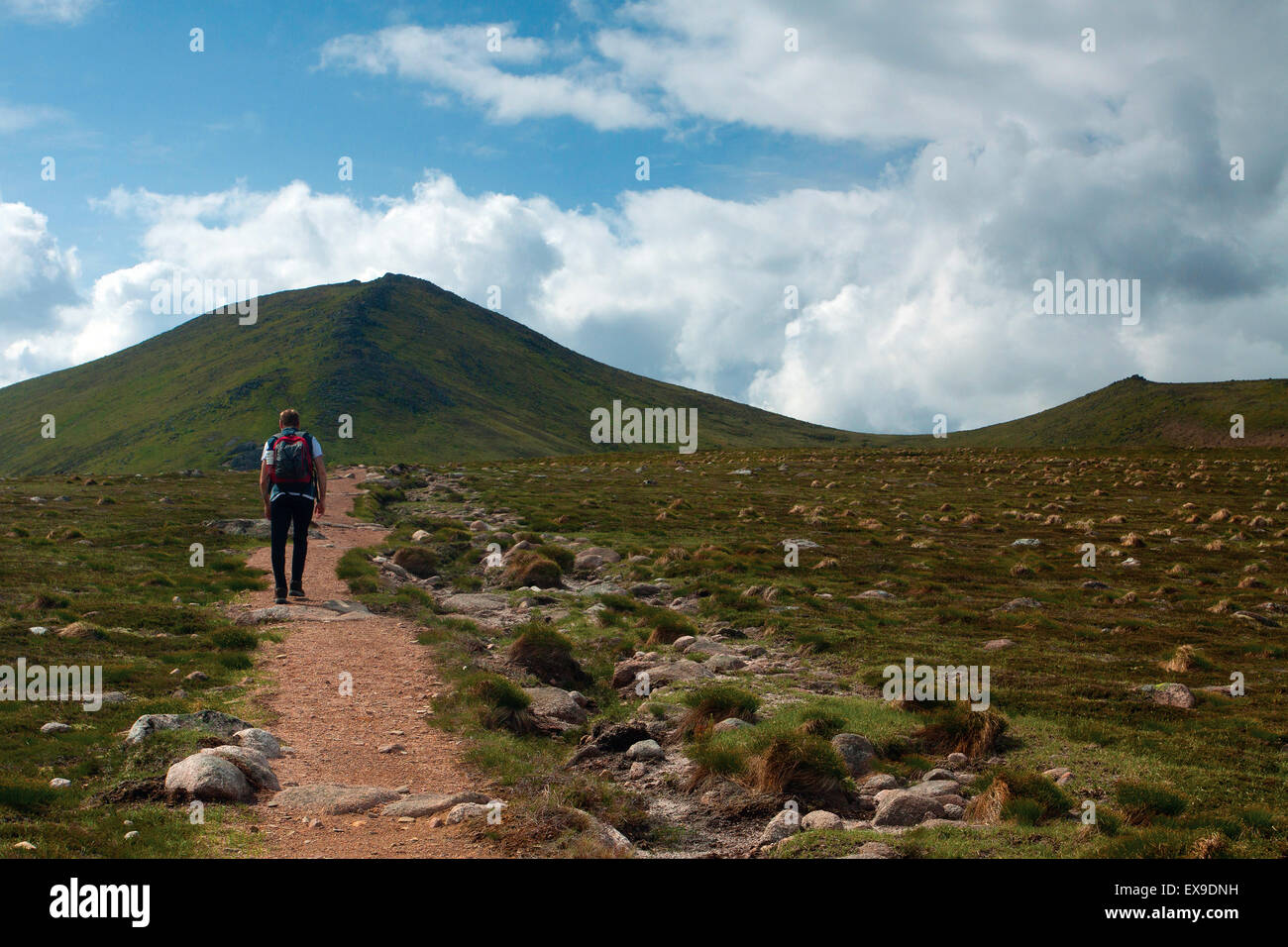 Bynack More and Bynack Beg, Cairngorm National Park, Badenoch & Speyside - Stock Image