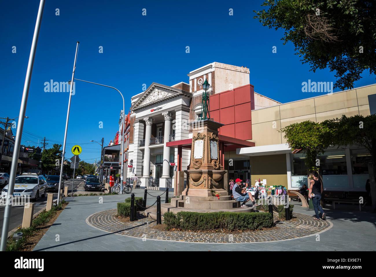 Darling Street, Balmain, Sydney, Australia - Stock Image
