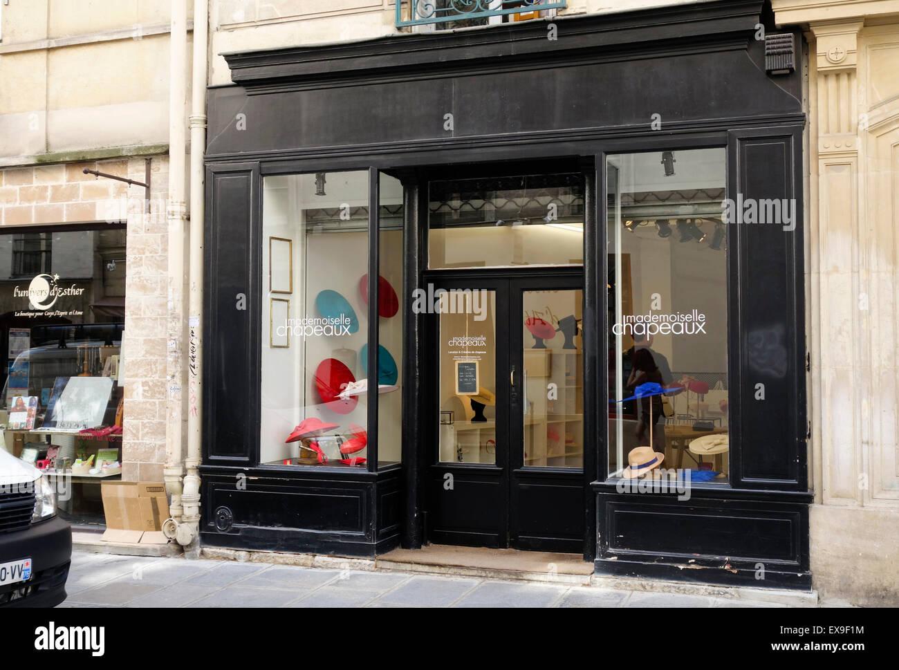 d3bea60827cc4 Boutique shop Mademoiselle chapeau, Hats & Chapeaux, Paris France ...