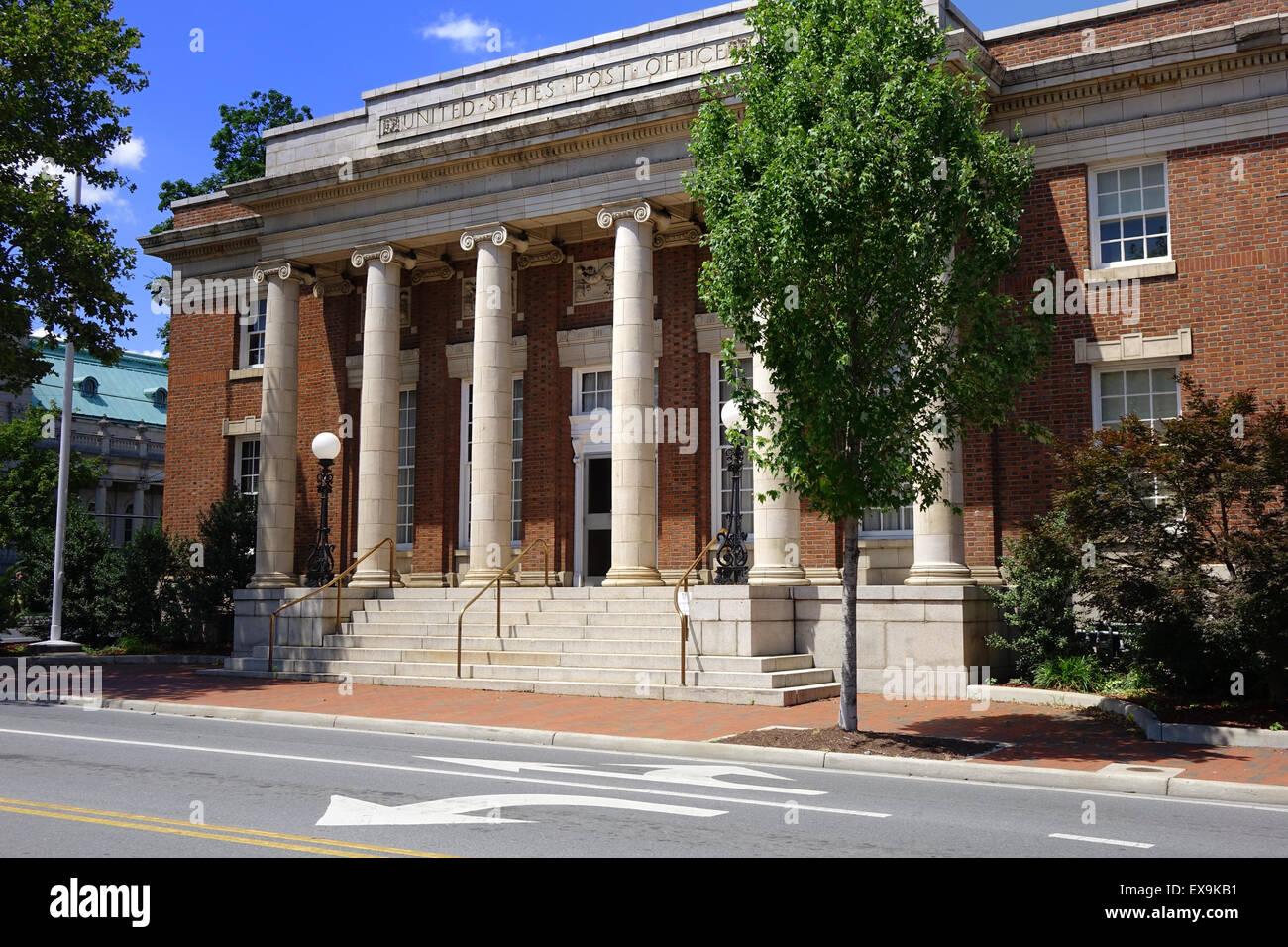 Old Town Post Office, now used as an office building, Old Town, Winchester, Virginia - Stock Image