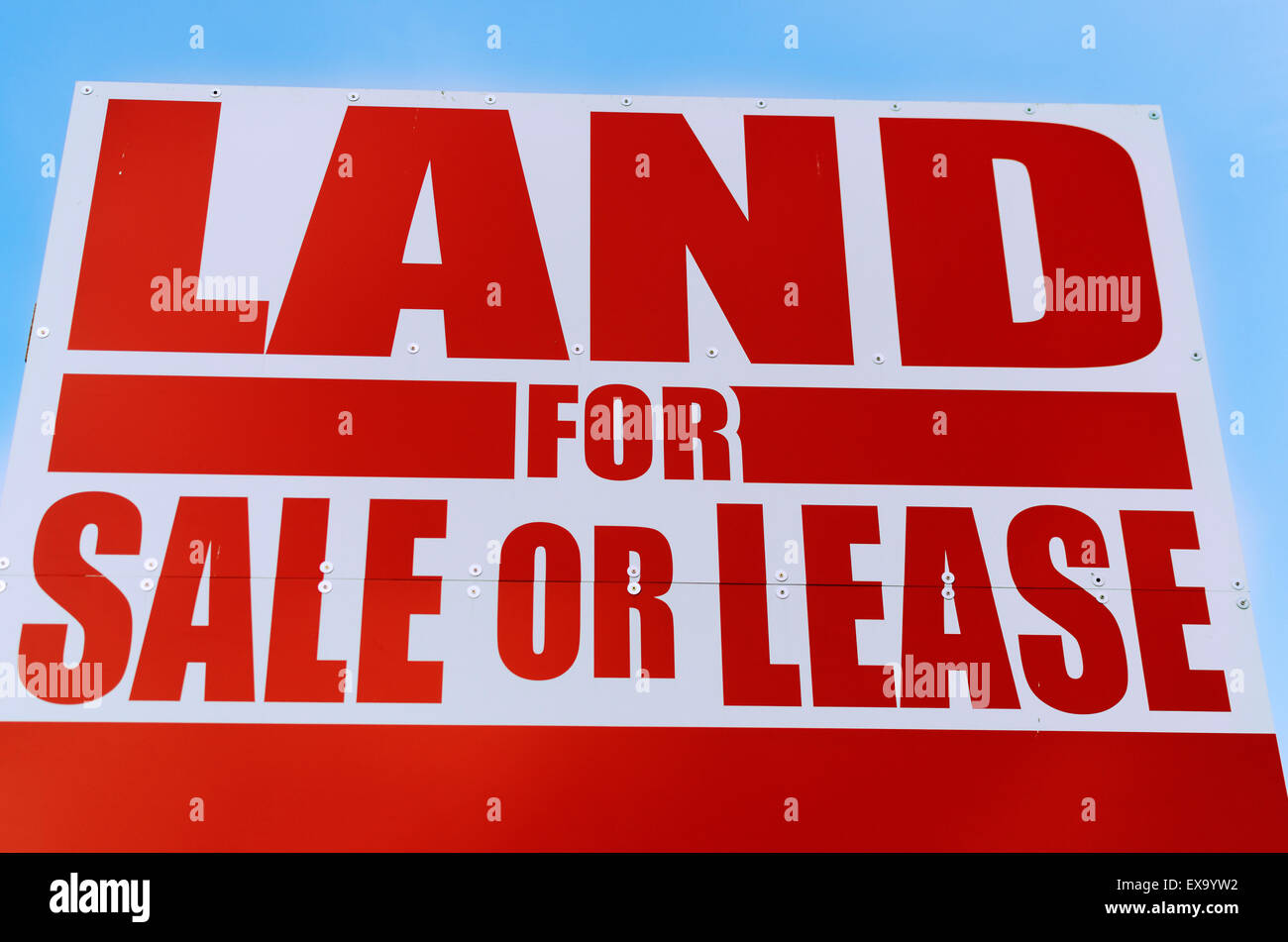 land for sale advertisement