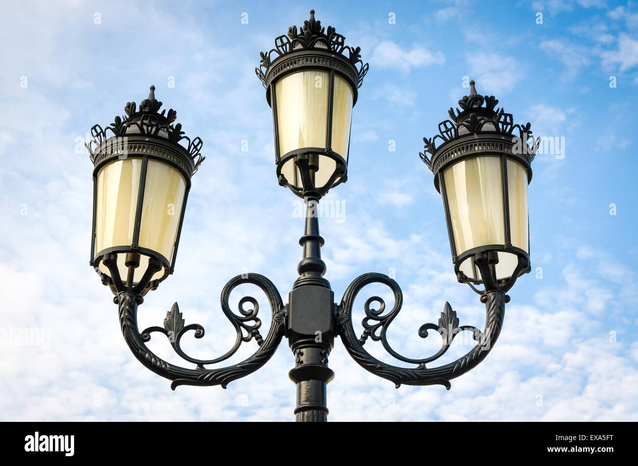 isolated background white lamppost on protection photo lamp light street old aet image stock legal of vintage pole with clipping post