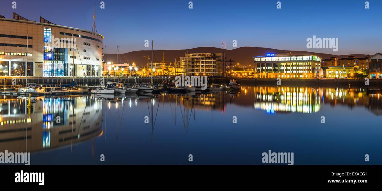 Belfast city, Northern Ireland, United Kingdom - Stock Image