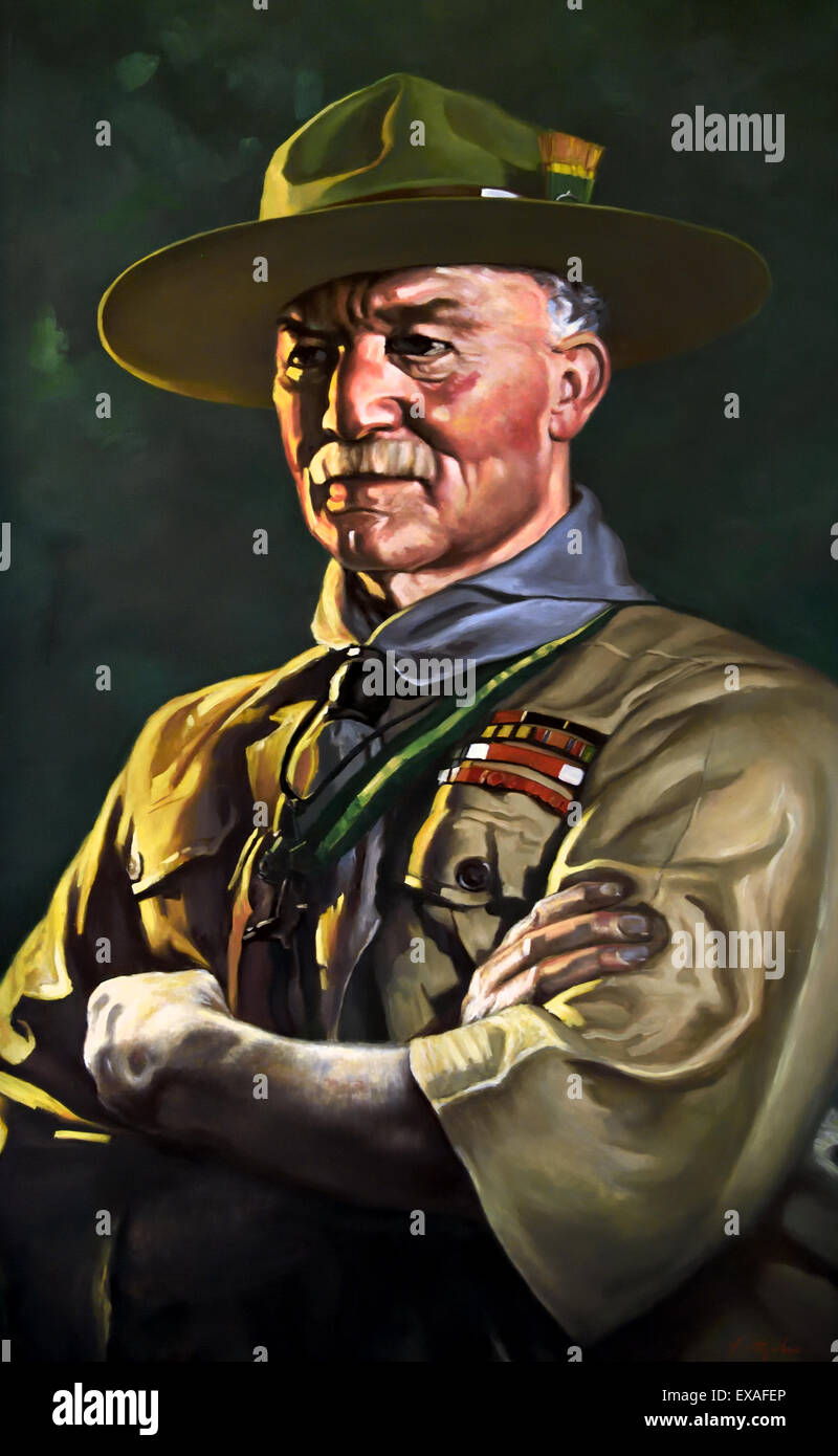Lieutenant General Robert Stephenson Smyth Baden Powell 1857 – 1941 also  known as BP or Lord 0a8284fde05