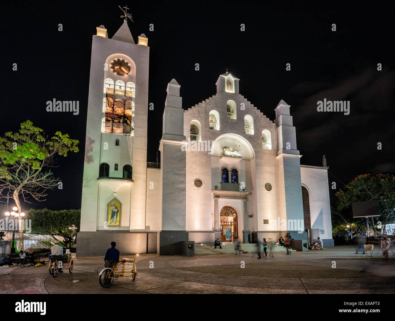 Catedral de San Marcos at Plaza Civica in Tuxtla Gutierrez, Chiapas state, Mexico - Stock Image