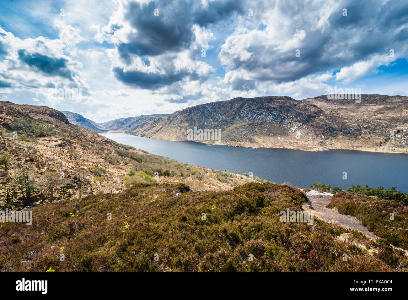 Glenveagh National Park, County Donegal, Ulster, Republic of Ireland, Europe - Stock Image