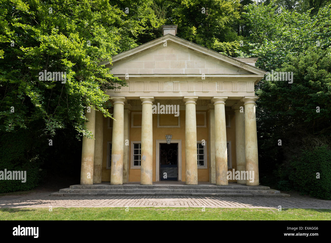 Temple of Piety - Stock Image