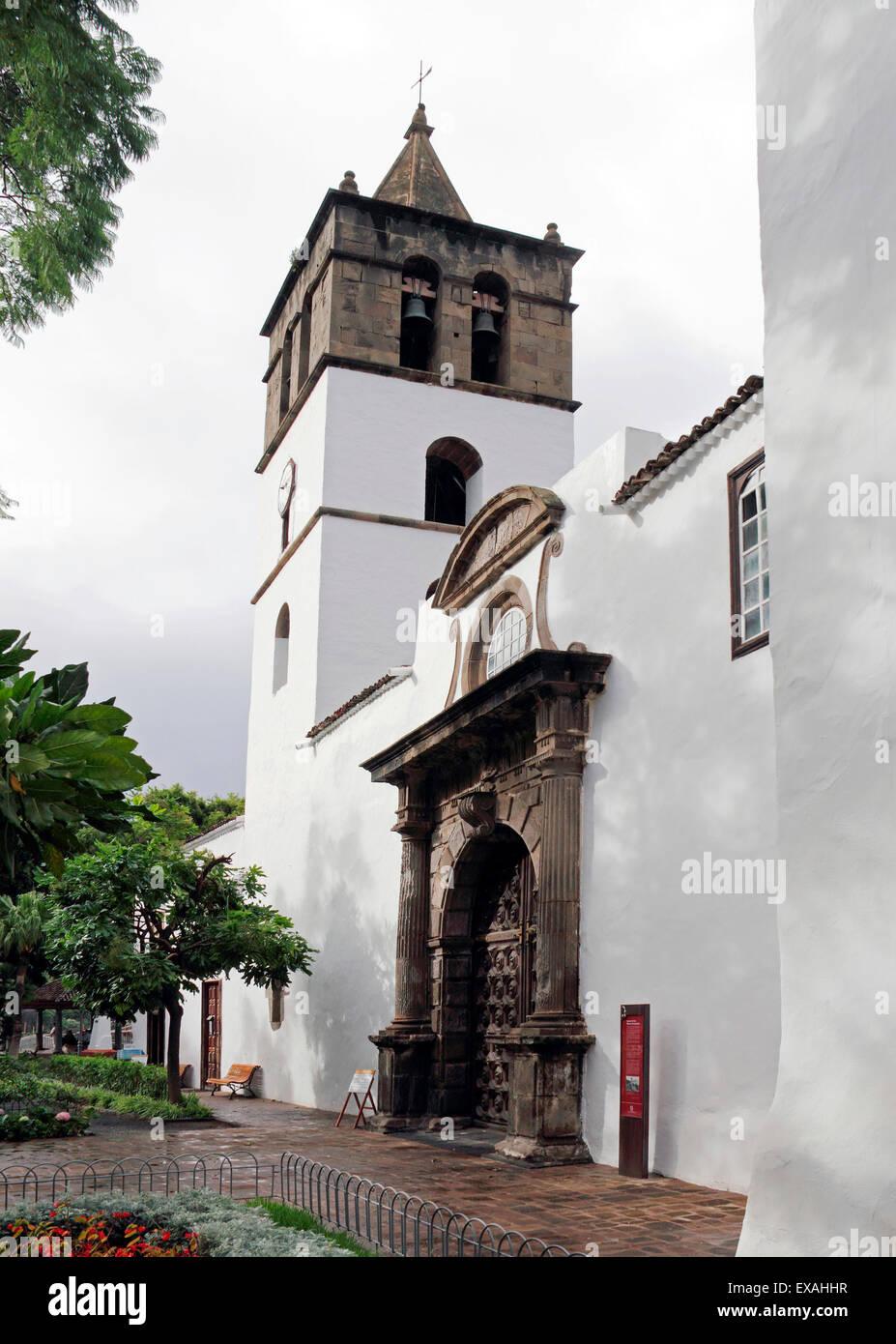 Iglesia de San Marcos church in Icod de los Vinos at Santa Cruz ...