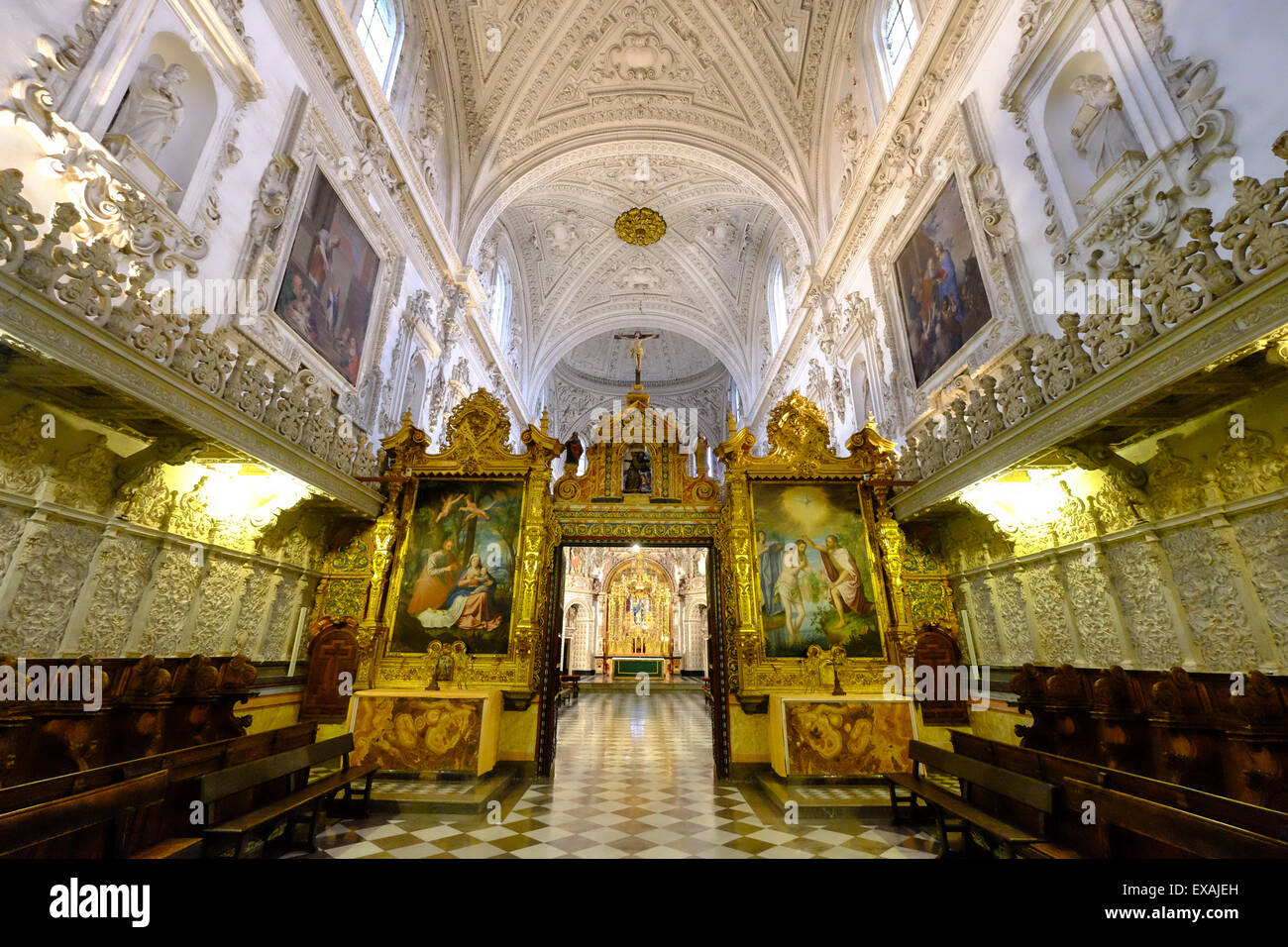 Cartuja Monastery, Granada, Andalucia, Spain, Europe Stock Photo
