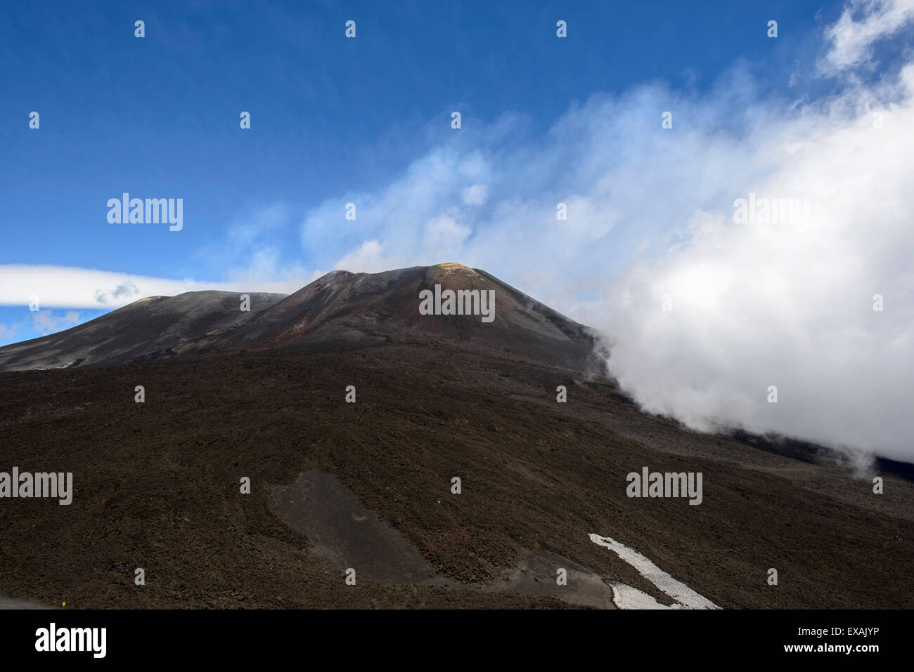 Mount Etna, Sicily - Stock Image