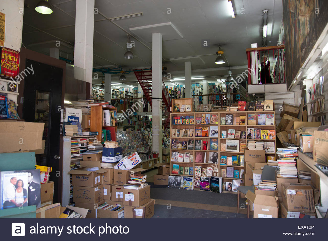 Goulds secondhand bookshop, King Street, Newtown, Sydney, Australia - Stock Image